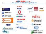 key customers technology partners