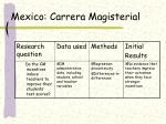 mexico carrera magisterial
