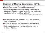 quantum of thermal conductance qtc