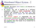 distributed object system 2