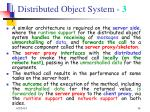 distributed object system 3