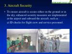 3 aircraft security