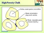 high porosity chalk