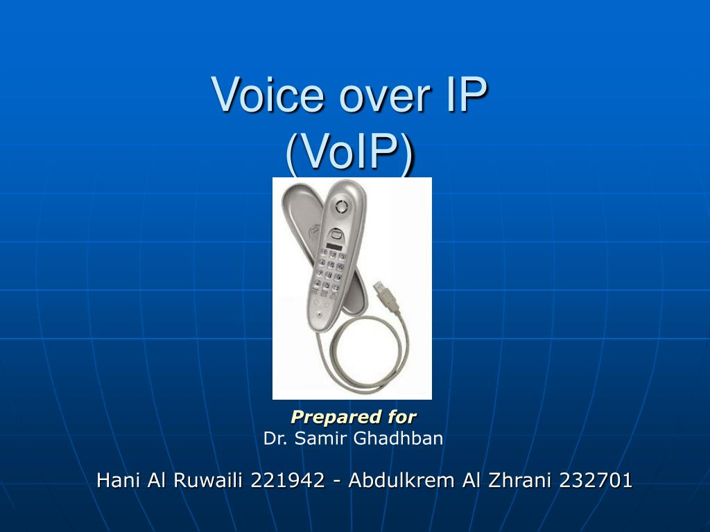voice over ip voip l.