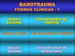 barotrauma formas cl nicas 1