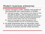 modern business enterprise