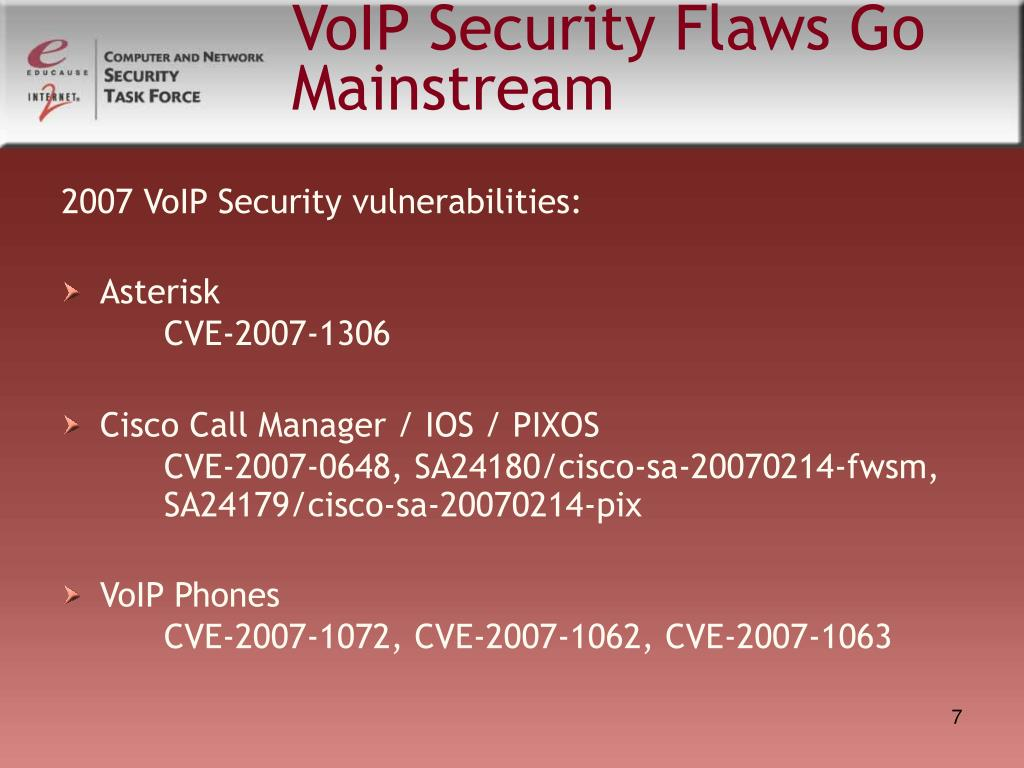 VoIP Security Flaws Go Mainstream