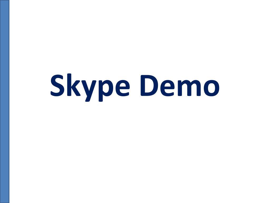 Skype Demo