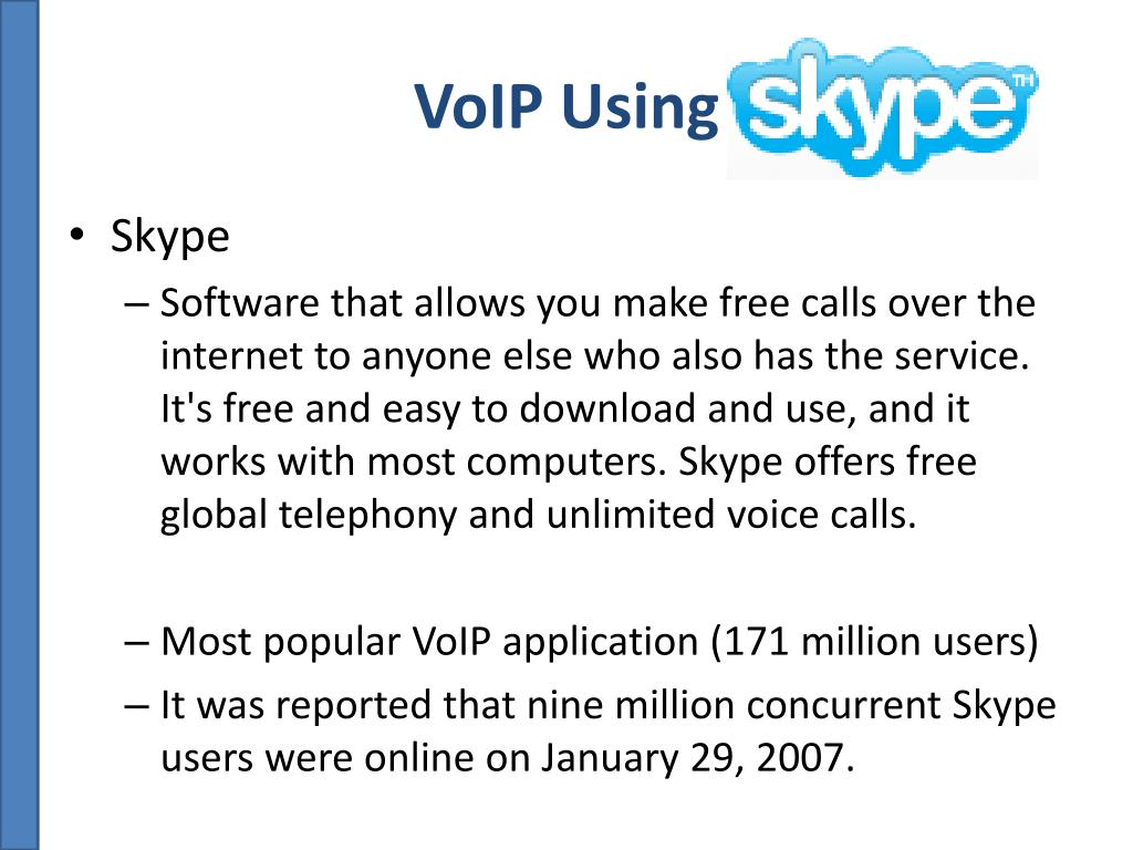 VoIP Using