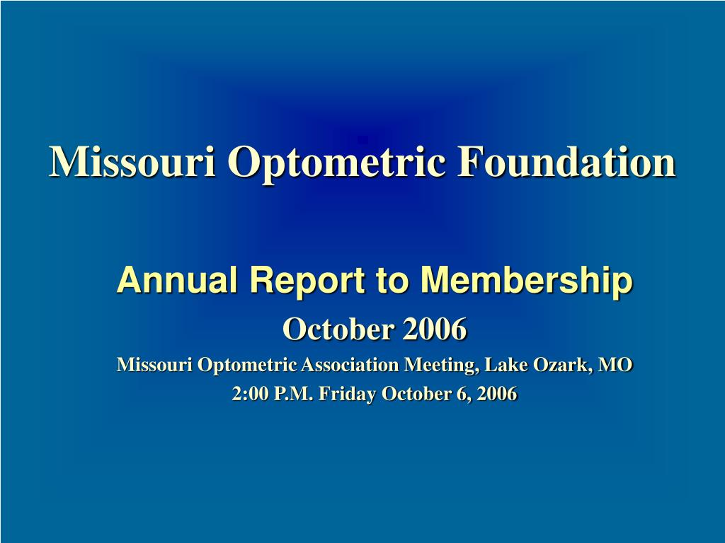 missouri optometric foundation l.