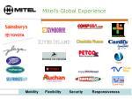 mitel s global experience