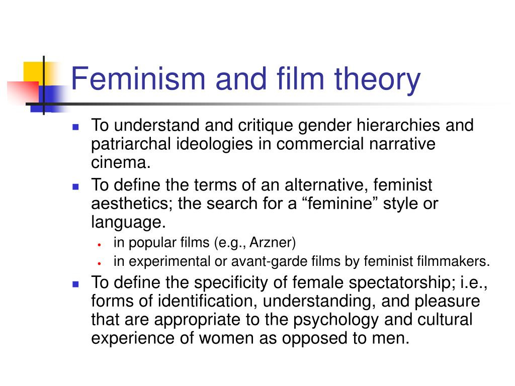 feminism and film theory l.
