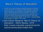 marx s theory of alienation1