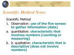 scientific method notes1