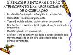 3 sinais e sintomas do n o atendimento das necessidades de oxigena o18