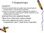 7 oxigenoterapia
