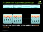 a common programming strategy24
