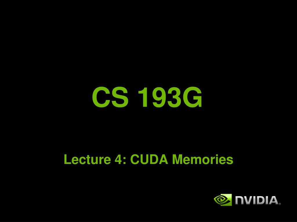 cs 193g l.