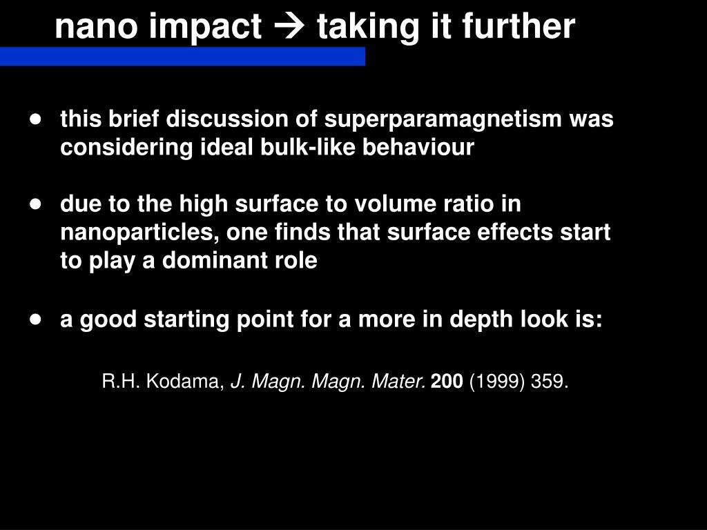 nano impact