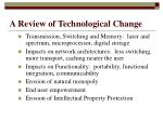 a review of technological change