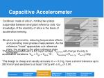capacitive accelerometer
