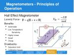 magnetometers principles of operation