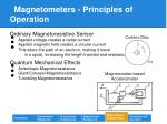magnetometers principles of operation17