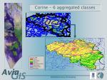 corine 6 aggregated classes