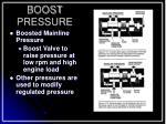 boost pressure