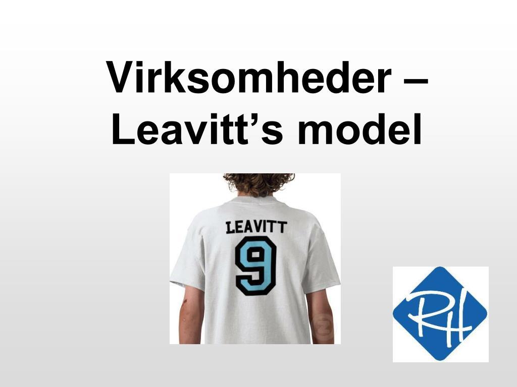 virksomheder leavitt s model l.