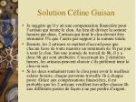 solution c line guisan