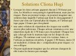 solutions cliona hugi