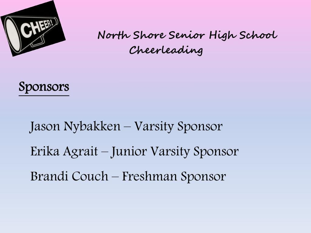 north shore senior high school cheerleading l.