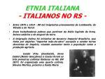 etnia italiana italianos no rs