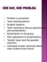 one day one problem