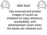 kba shelf