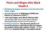 prices and wages after black death 2