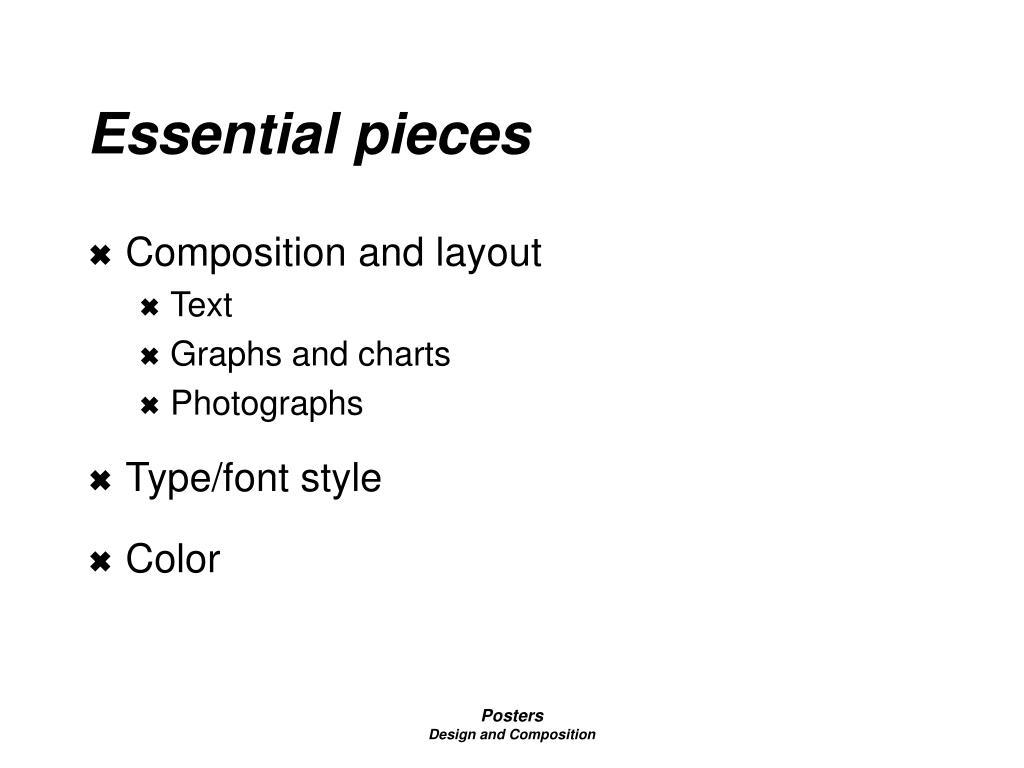 essential pieces l.