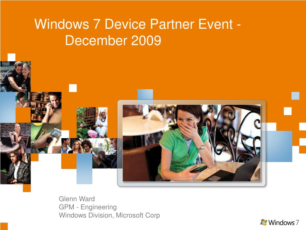 windows 7 device partner event december 2009 l.