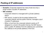 pooling of ip addresses
