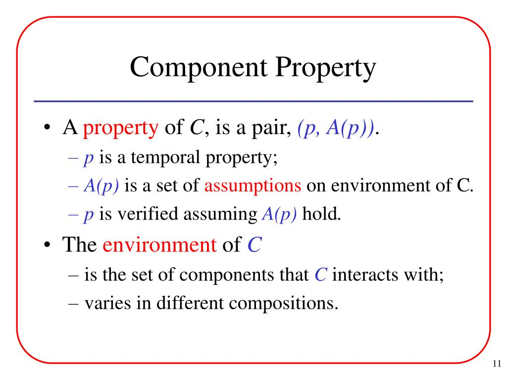Component Property