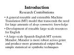 introduction research contributions