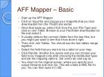 aff mapper basic16