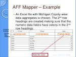 aff mapper example