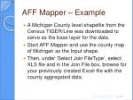 aff mapper example23