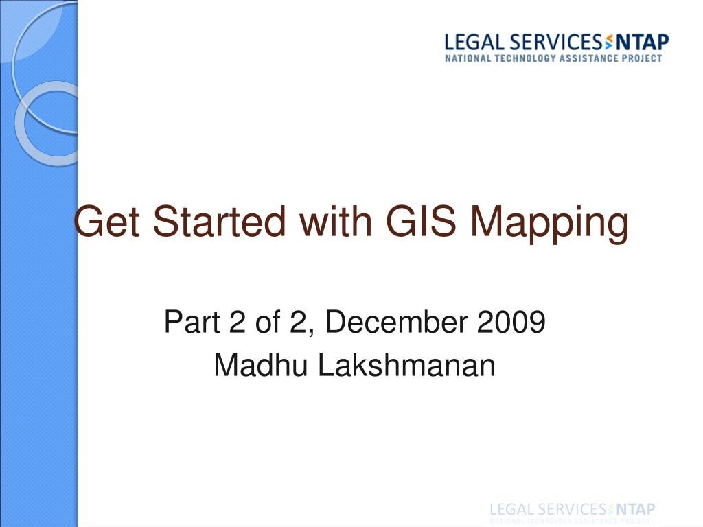 get started with gis mapping l.