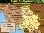battle for kosovo