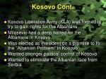 kosovo cont