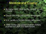 slovenia and croatia
