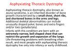 asphyxiating thoracic dystrophy
